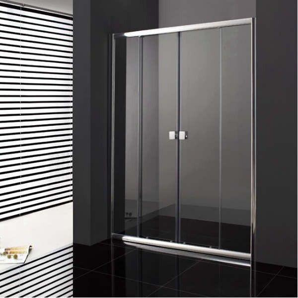 paroi de douche coulissante verre fixe 2 portes pas cher. Black Bedroom Furniture Sets. Home Design Ideas