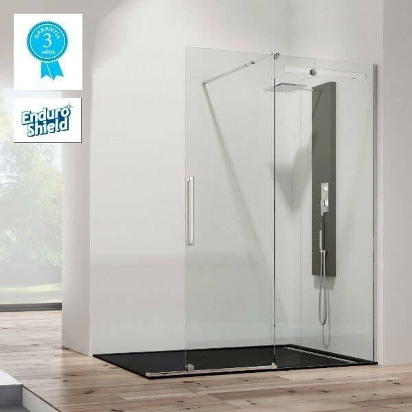 paroi de douche en acier inox coulissante pas cher inox vetrum free. Black Bedroom Furniture Sets. Home Design Ideas
